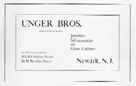 Unger Brothers Cover