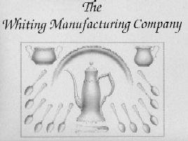 1896 Whiting Mfg. Co. Catalogue Cover