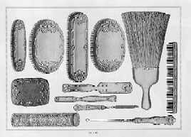 1896 Whiting Mfg. Co. Dresser Set Sample Page